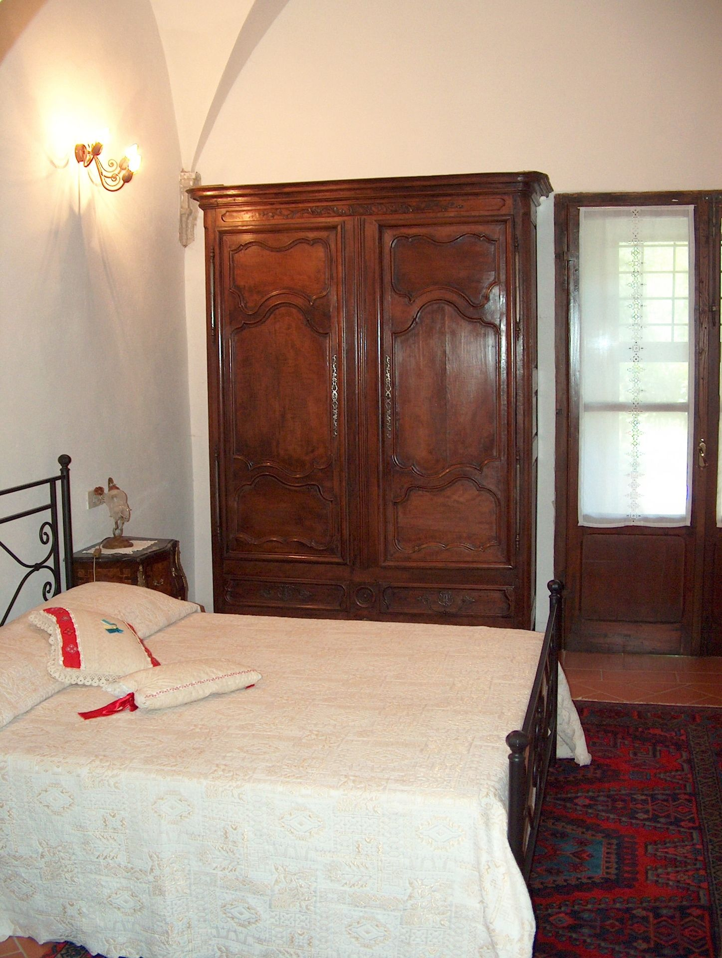 Villa Sant'Agnese, the first bedroom