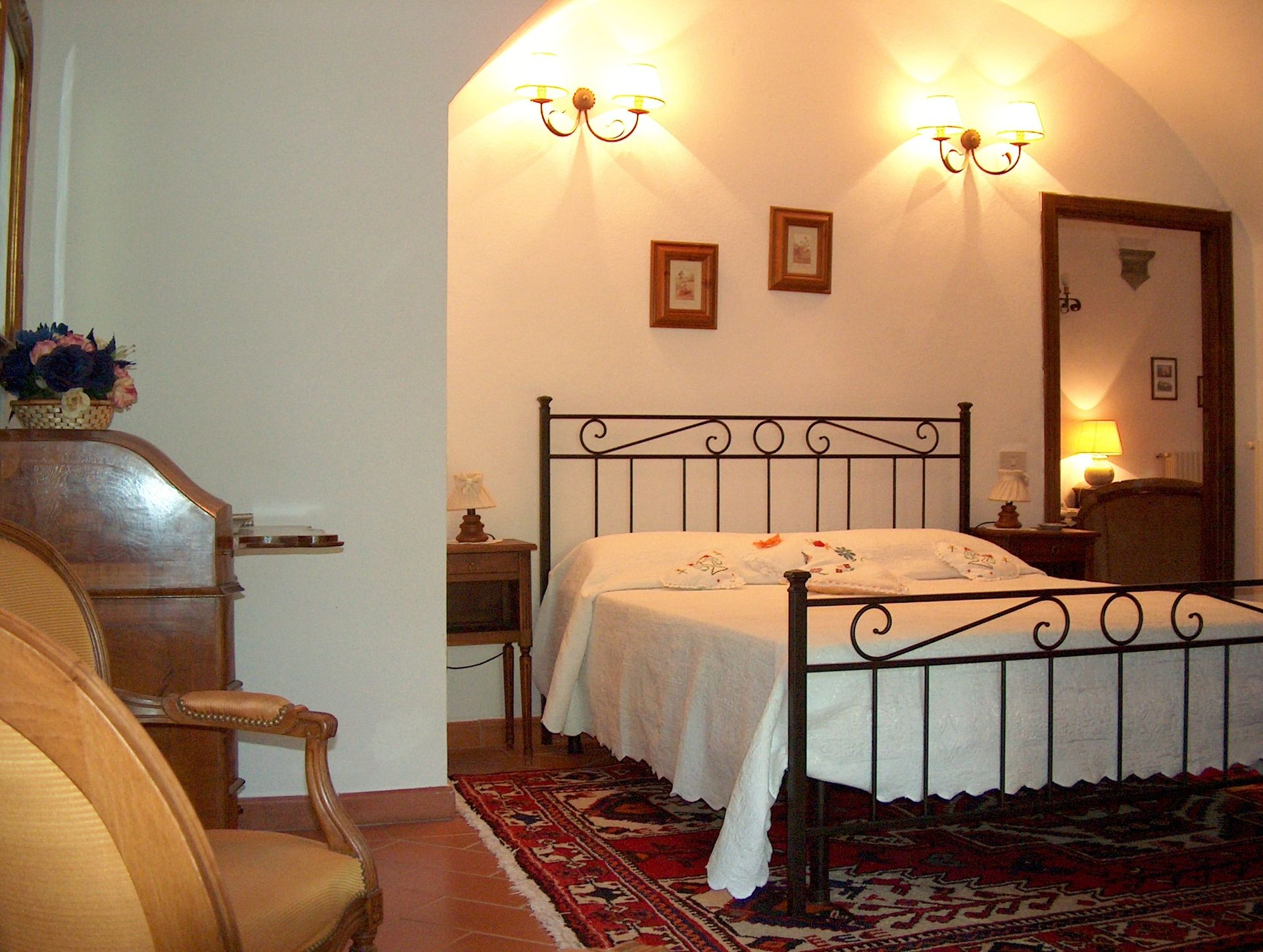Villa Sant'Agnese, second bedroom