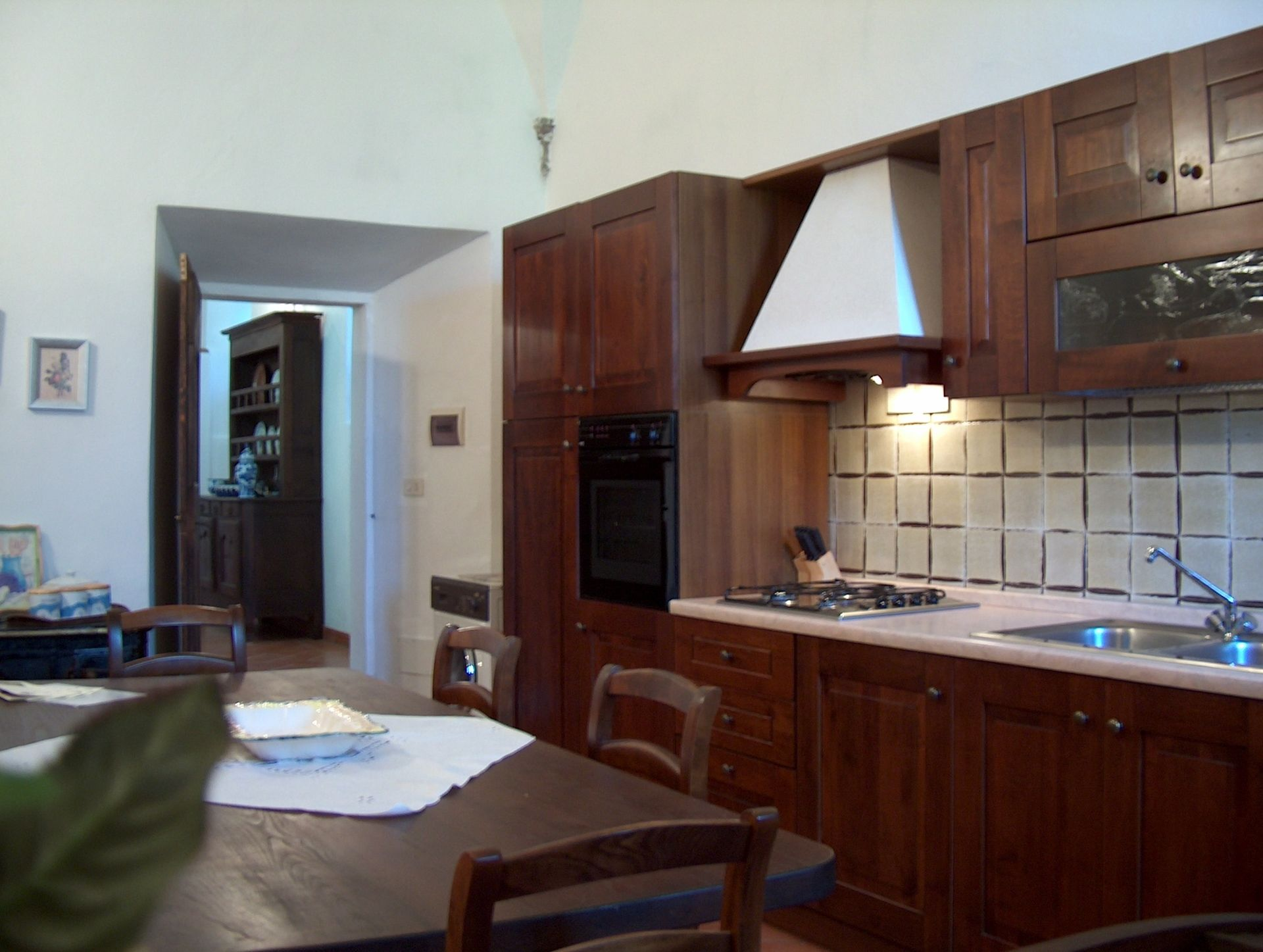 Villa Sant'Agnese, kitchen